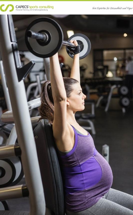 Gesundheitskurse für Schwangere, Fitnesskurse für Schwangere